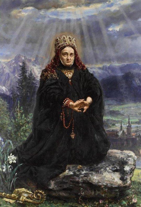 koronás asszony